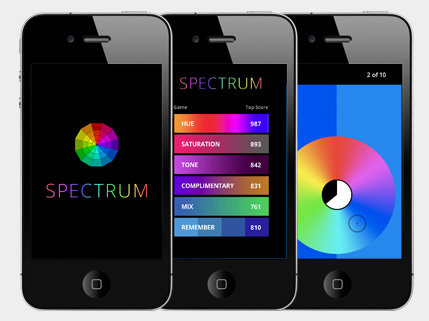 Spectrum Color Game